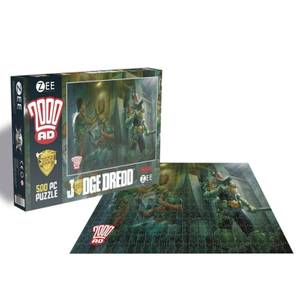 2000AD Judge Dredd (500 Piece Jigsaw Puzzle)