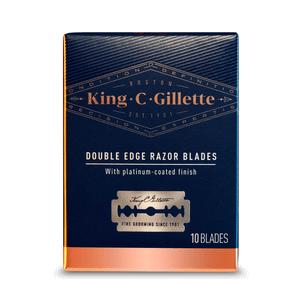 King C Gillette Rasierhobel Klingen