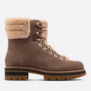 Clarks Women's Orianna Nubuck Hiking Style Boots - Pebble