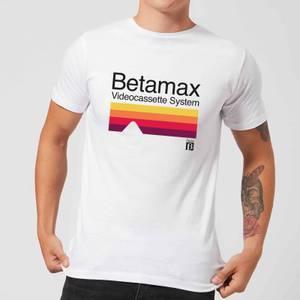 Betamax Cassette System Men's T-Shirt - White