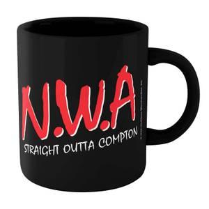 Tasse NWA Straight Outta Compton - Noir