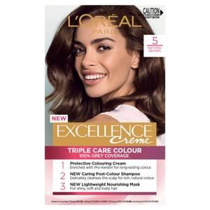 L'Oréal Paris Excellence Creme Permanent Hair Colour - Brown 5.0