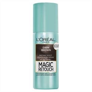 L'Oréal Paris Magic Retouch Temporary Root Concealer Spray - Dark Brown 2 75ml
