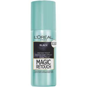 L'Oréal Paris Magic Retouch Temporary Root Concealer Spray - Black 1 75ml