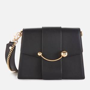 Strathberry Women's Box Crescent Bag - Black