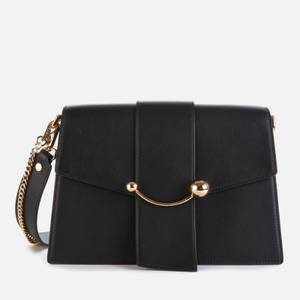 Strathberry Women's Crescent Shoulder Bag - Black