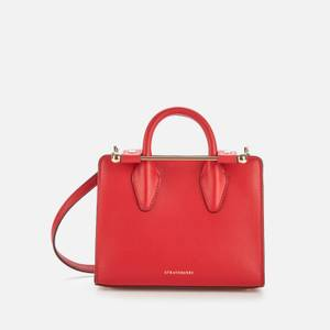 Strathberry Women's Nano Tote Bag - Ruby