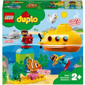 LEGO DUPLO Town: Submarine Adventure Bath Toy (10910)