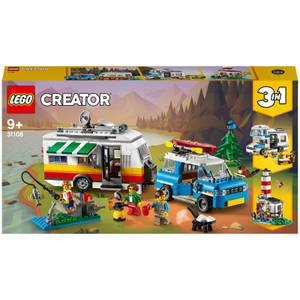 LEGO Creator: 3in1 Caravan Family Holiday Car Toy (31108)