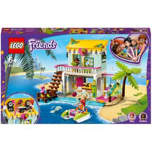 LEGO Friends: Beach House Mini Dollhouse Play Set (41428)