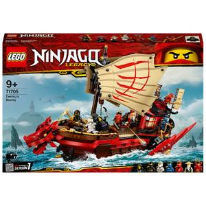 LEGO NINJAGO: Legacy Destiny's Bounty Ship Set (71705)