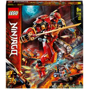 LEGO NINJAGO: Fire Stone Mech Ninja Action Figure Toy (71720)