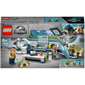 LEGO Jurassic World: Baby Dinosaur Lab Breakout Toy (75939)