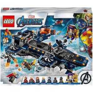 LEGO Marvel Avengers Helicarrier Toy (76153)