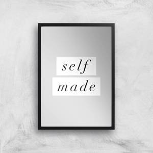 The Motivated Type Self Made Serif Giclee Art Print