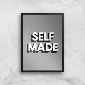 The Motivated Type Self Made Giclee Art Print