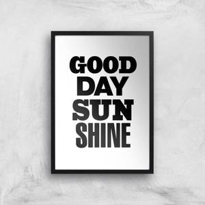 The Motivated Type Good Day Sunshine Giclee Art Print