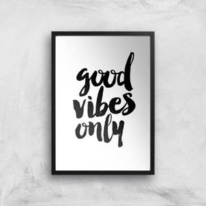 The Motivated Type Good Vibes Only Giclee Art Print
