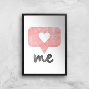 The Motivated Type I Heart Me Giclee Art Print