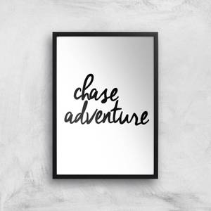 The Motivated Type Chase Adventure Giclee Art Print