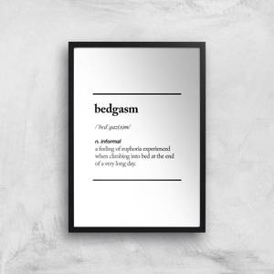 The Motivated Type Bedgasm Giclee Art Print