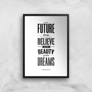The Motivated Type The Future Belongs Giclee Art Print