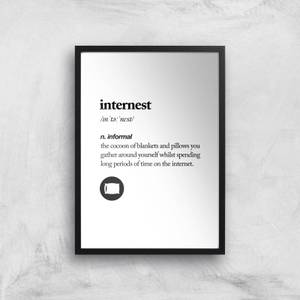 The Motivated Type Internest Giclee Art Print