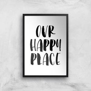 The Motivated Type Our Happy Place Giclee Art Print