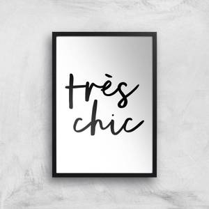 The Motivated Type Tres Chic Giclee Art Print