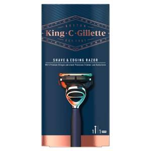 King C. Gillette Bartrasierer Marineblau