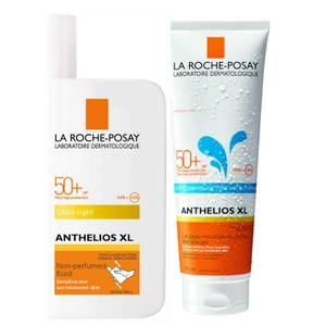 La Roche-Posay Face and Body Sunscreen Set for Normal and Combination Skin