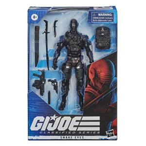 Hasbro G.I. Joe Classified Series Snake Eyes Action Figur