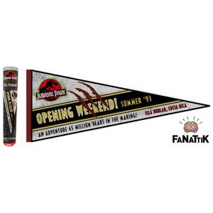 Fanion Jurassic Park