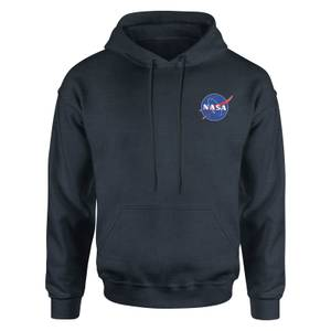 NASA Meatball Kids' Piped Hoodie - Navy