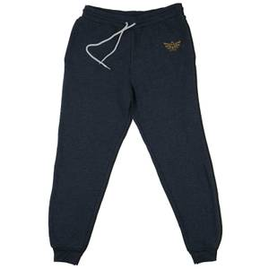 Nintendo The Legend Of Zelda Triforce Embroidered Kids' Piped Joggers - Navy