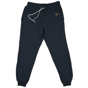 Harry Potter Hufflepuff Embroidered Kids' Piped Joggers - Navy