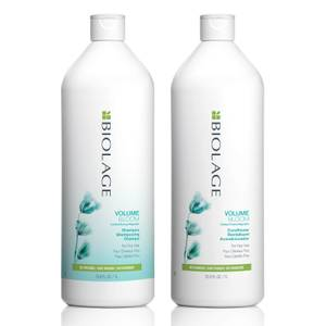 Biolage VolumeBloom Volumising Duo Litre Set for Fine, Flat Hair