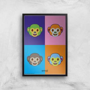 Emoji Pop Art Giclee Art Print