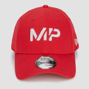MP New Era 9FORTY Baseball Cap - Danger/White