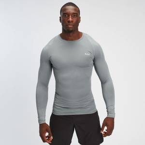 MP Men's Essentials Training Long Sleeve Baselayer - Storm
