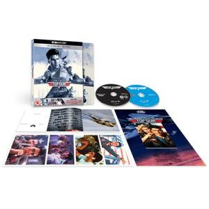 Top Gun – Zavvi Exclusive 4K Ultra HD Deluxe Steelbook (Includes 2D Blu-ray)