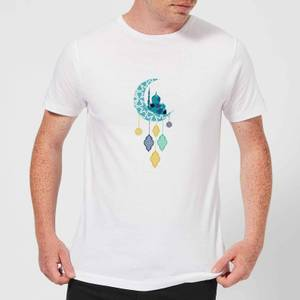Eid Mubarak Moon Charm Men's T-Shirt - White