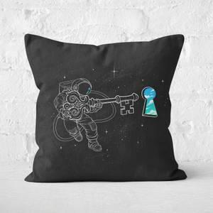 Astral Key Square Cushion
