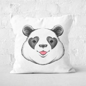 Panda Love Square Cushion