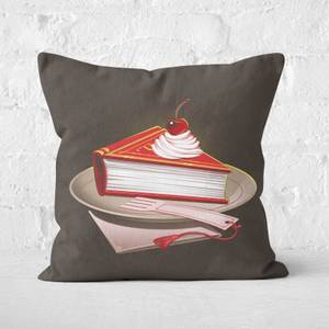 Food For The Brainy Square Cushion