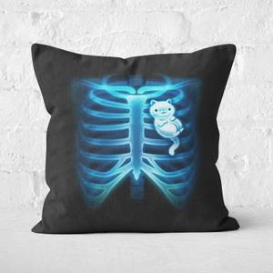 In My Heart Square Cushion