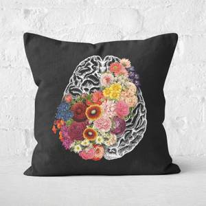 Love Your Brain Square Cushion