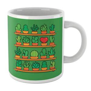 Love Yourself Cactus Heart Mug