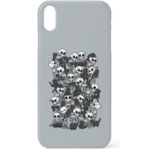 Cat Skull Party Phone Case for iPhone and Android