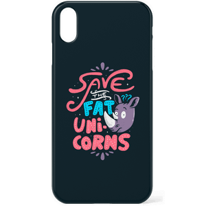 Save The Fat Unicorns Phone Case for iPhone and Android